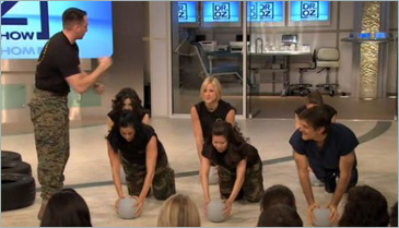 Marine Bootcamp Workout with Dr. Oz